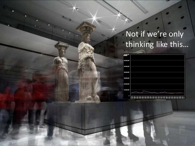 Scale can be confusingIf scale matters, are 1 billion TED videos better than 2.4 million museum visits?