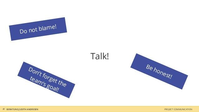 o not blame!             D                                        Talk!                   Do                           Be ...