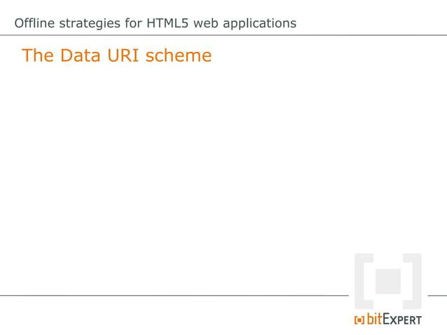 Offline strategies for HTML5 web applications Web Storage: Modify item functionmodify(item){     try{          //store...