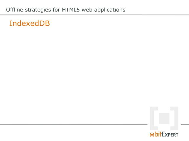 Offline strategies for HTML5 web applications File API: Preparations varonError=function(e){     varmsg=;      swit...