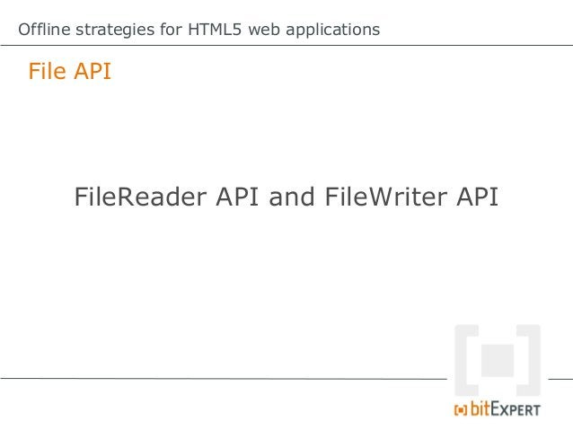 Offline strategies for HTML5 web applications Am I online? Another approach... $.ajax({ dataType:json, url:http://my...