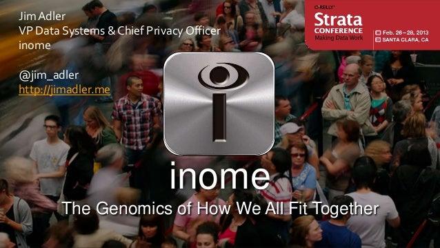 Jim AdlerVP Data Systems & Chief Privacy Officerinome@jim_adlerhttp://jimadler.me                             inome       ...