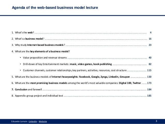 Web-based business models in 2013 Slide 3