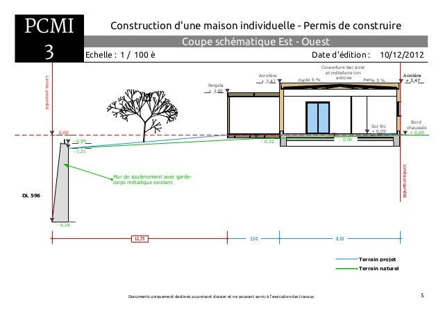 Dossier de permis de construire for Permis construire maison individuelle