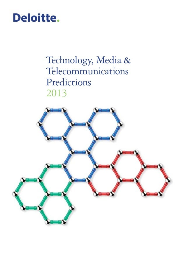 Technology, Media&TelecommunicationsPredictions2013