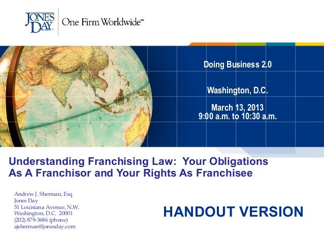 Doing Business 2.0                                    Washington, D.C.                                      March 13, 2013...