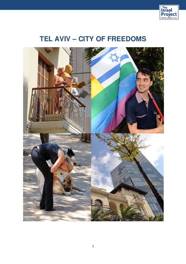 1 TEL AVIV – CITY OF FREEDOMS