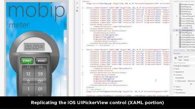 Replicating the iOS UIPickerView control (XAML portion)3.18.2013 - WWW.QUBOP.COM