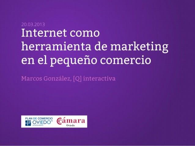 Internet como herramienta de marketing para el pequeño comercio