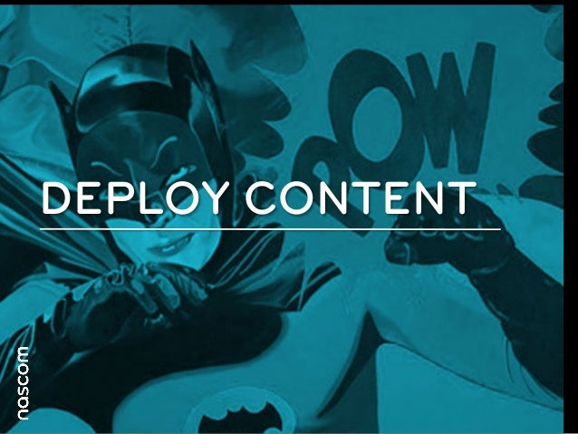 Content                          BriefingDeploy:                                 Drive: Brief the correct              ...