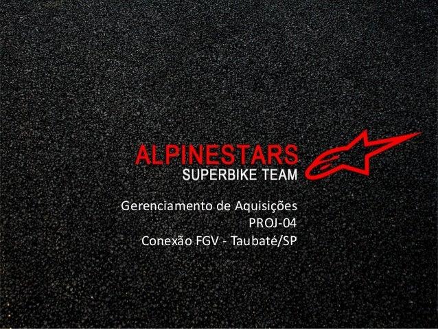 Gerenciamento de Aquisições                    PROJ-04   Conexão FGV - Taubaté/SP