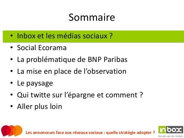 Cercle MD : Comprendre media sociaux pour agir Inbox  Slide 3