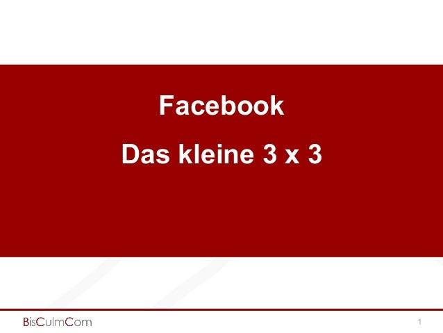 Facebook Das kleine 3 x 3 1