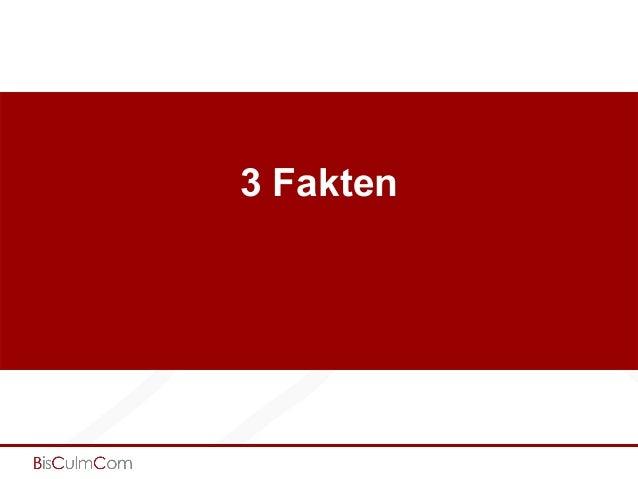 3 Fakten