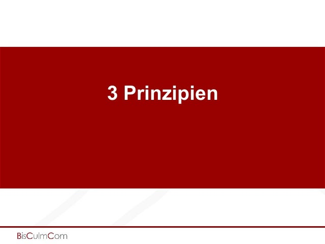 3 Prinzipien