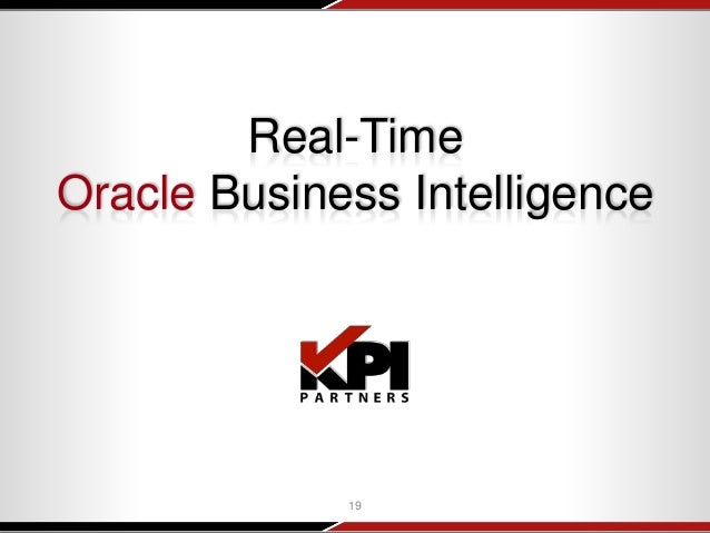 Extend Oracle BI To Support Real-Time Analytics