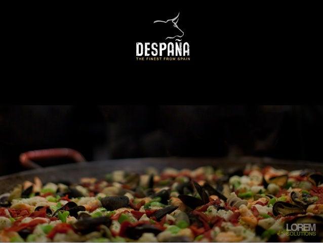 Distribuidor en EEUUNº1 en importación y distribución de productos gourmet españoles en el centro y                       ...