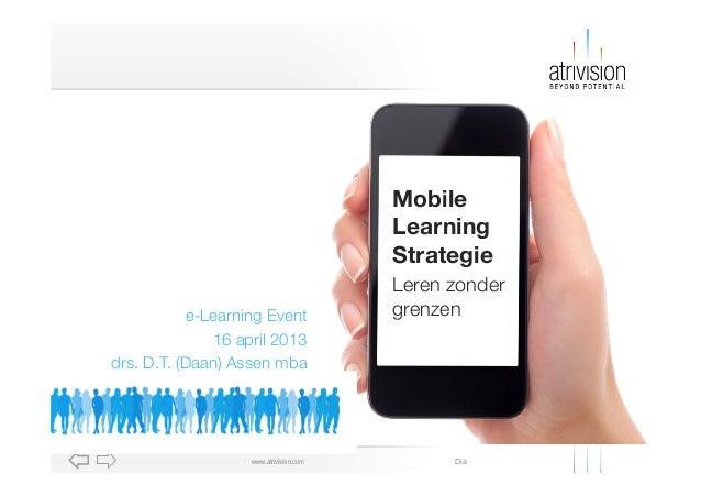 Mobile                                        Learning                                        Strategie                   ...