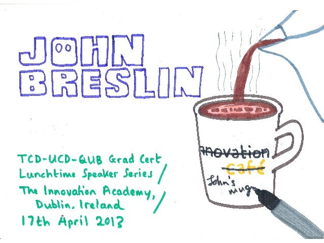 John Breslin at the Innovation Academy