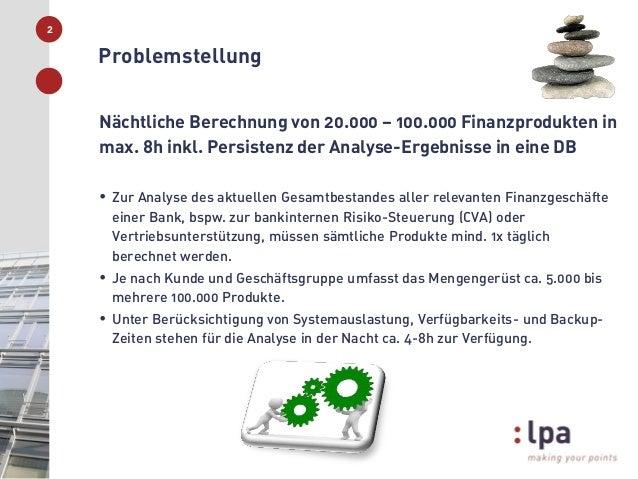 Vorstellung der Aufgabenstellung der lpa GmbH im Rahmen der Ringvorlesung Slide 2