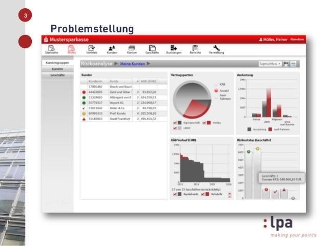 Vorstellung der Aufgabenstellung der lpa GmbH im Rahmen der Ringvorlesung Slide 3