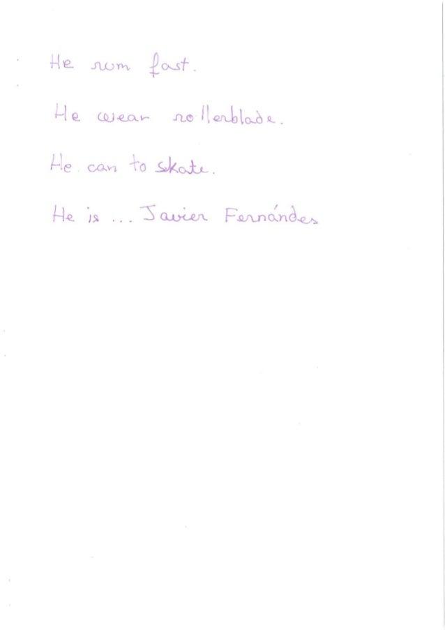 INGLÉS 3ºC: ESTRELLAS DEL DEPORTE