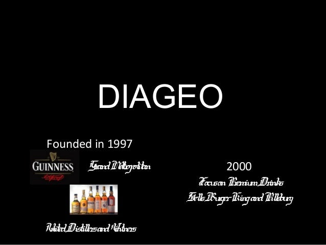 Diageo pestle