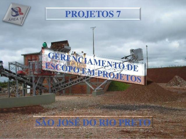 PROJETOS 7SÃO JOSÉ DO RIO PRETO