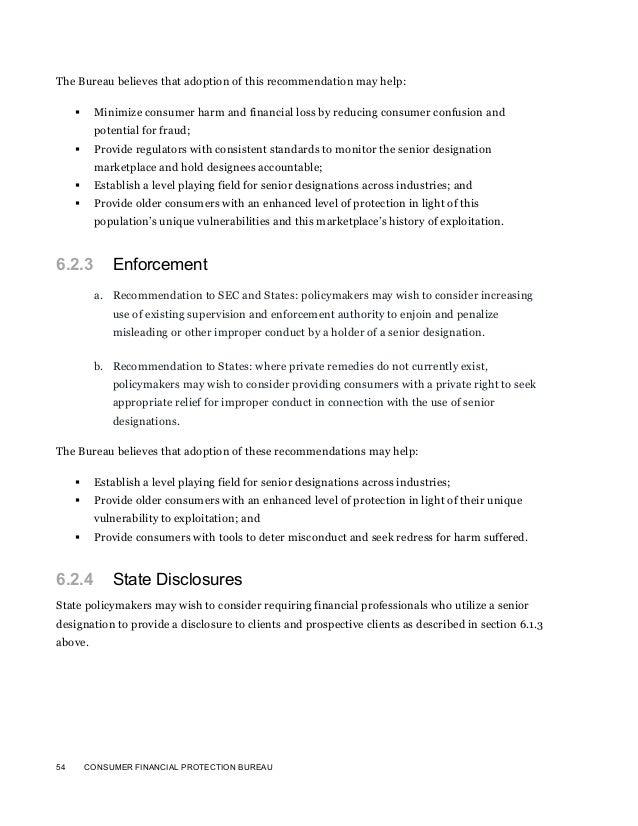 Senior Designations For Financial Advisers