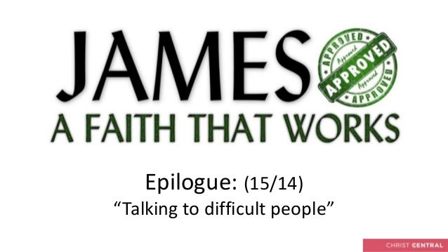 """Epilogue: (15/14)""""Talking to difficult people"""""""
