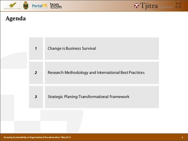 GI Net 10 - Ensuring Sustainability in Organizational Transformation Slide 2