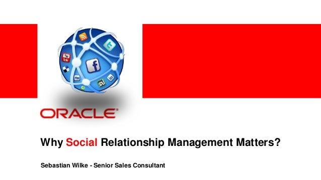 Customer Experience & Social Relationship Management @ Work | Sebast…