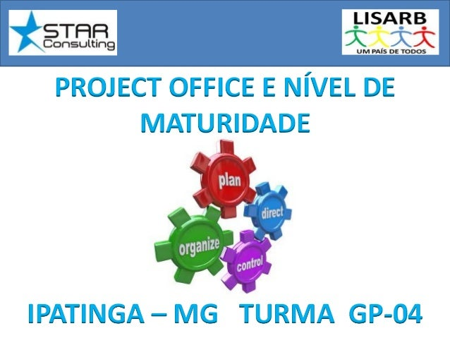 PROJECT OFFICE E NÍVEL DEMATURIDADEIPATINGA – MG TURMA GP-04