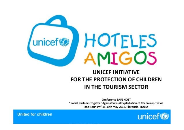 LOGÍSTICA - CENTRAL DESUMINISTROS 2007United for childrenUNICEF INITIATIVEFOR THE PROTECTION OF CHILDRENIN THE TOURISM SEC...