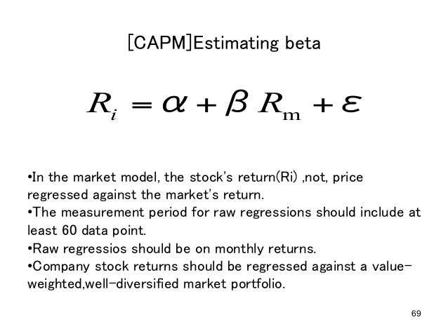 capm and three factor model in cost of equity measurement Capm for estimating the cost of equity capital: we argue that the empirical evidence against the capital asset pricing model their three-factor model has.