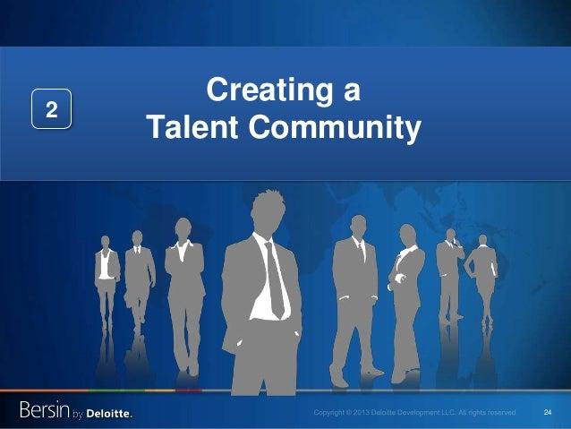 24 Creating a Talent Community 2