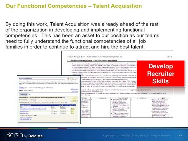 43 Develop Recruiter Skills