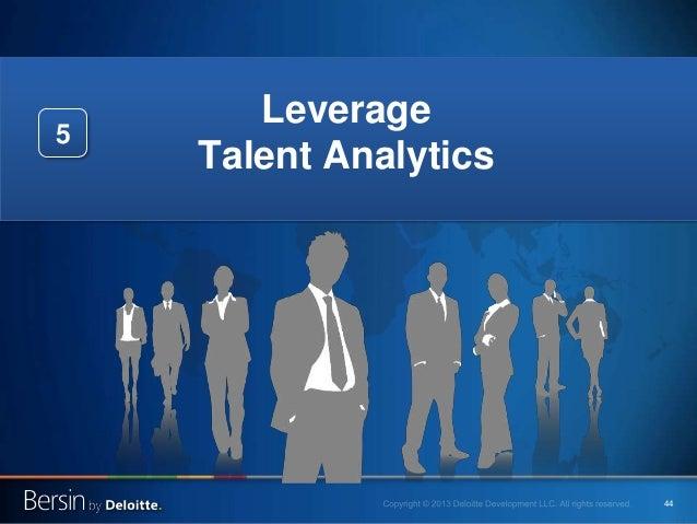 44 Leverage Talent Analytics 5