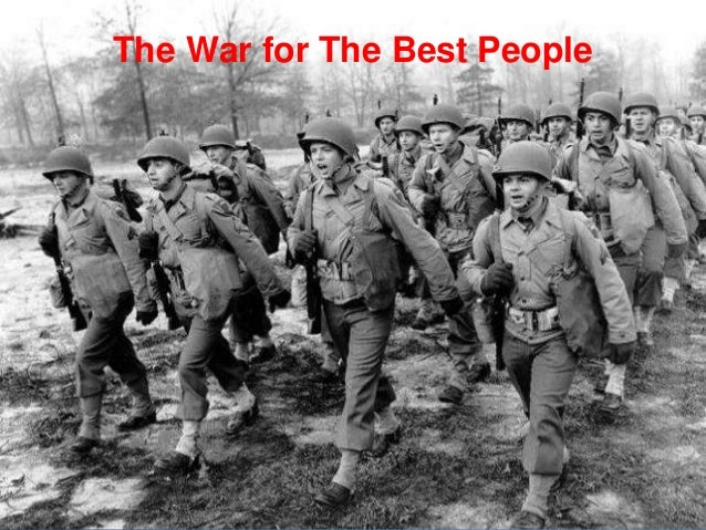 6 The War for The Best People