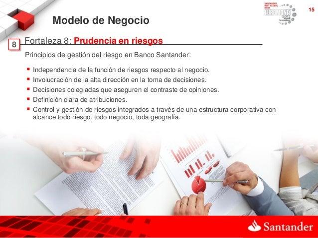 201305 fortalezas banco santander for Inmobiliaria del banco santander