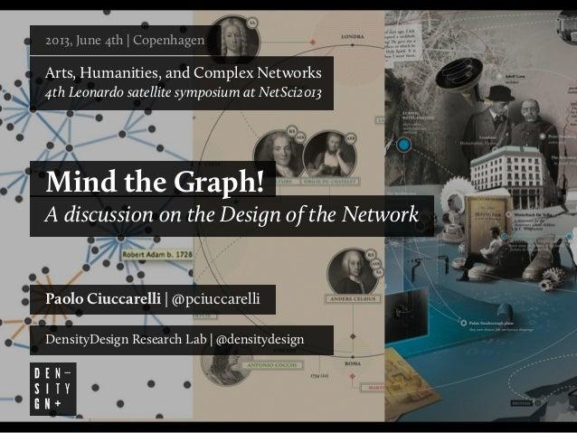 2013, June 4th   Copenhagen Arts, Humanities, and Complex Networks 4th Leonardo satellite symposium at NetSci2013 Mind the...