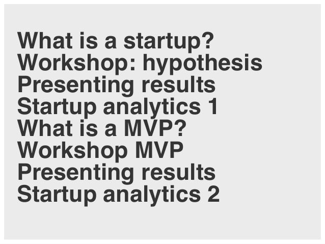 Lean Startup Analytics and MVP – Lecture and Workshop at Zeppelin University Slide 2