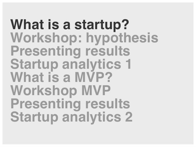 Lean Startup Analytics and MVP – Lecture and Workshop at Zeppelin University Slide 3