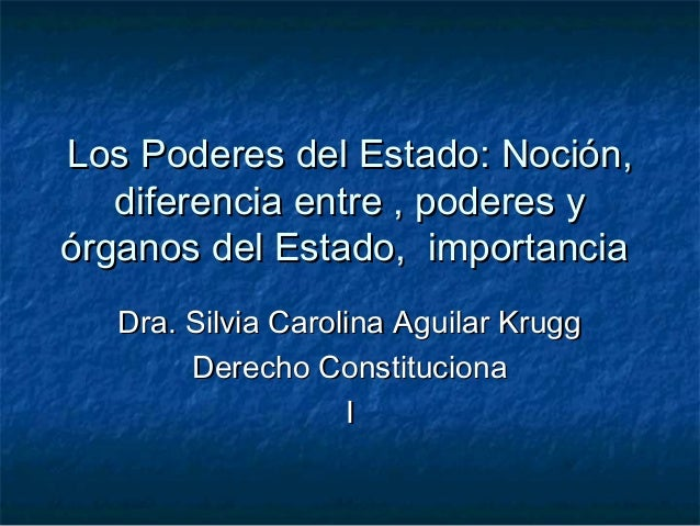 Los Poderes del Estado: Noción,Los Poderes del Estado: Noción,diferencia entre , poderes ydiferencia entre , poderes yórga...