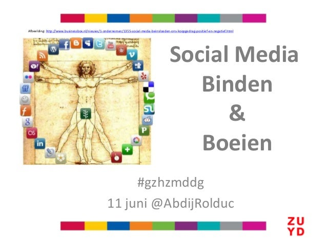 #gzhzmddg11 juni @AbdijRolducAfbeelding: http://www.businessbox.nl/nieuws/1-ondernemen/1355-social-media-beinvloeden-ons-k...