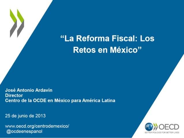 0510152025303540Ingresos Fiscales Totales0246810121416Promedio OCDE Brasil Corea Estados Unidos Chile México México (*)ISR...