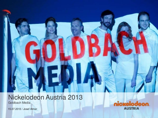 Nickelodeon Austria 2013 Goldbach Media 15.07.2013 / Josef Almer