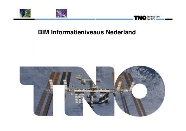 BIM Informatieniveaus Nederland