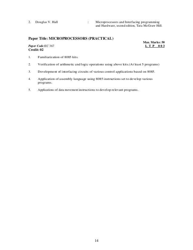 Microprocessors principles applications gilmore