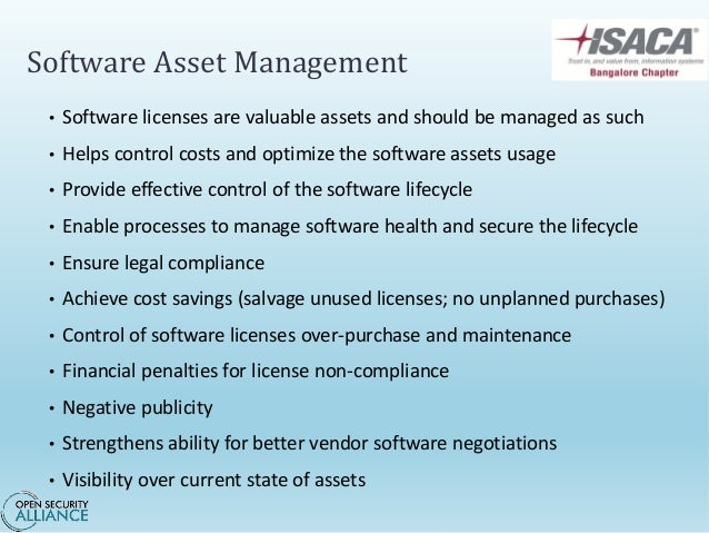 iso iec 19770 1 software asset management
